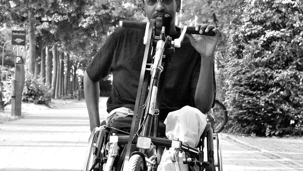 Flüchtling im Rollstuhl: Abdi Karshe aus Somalia