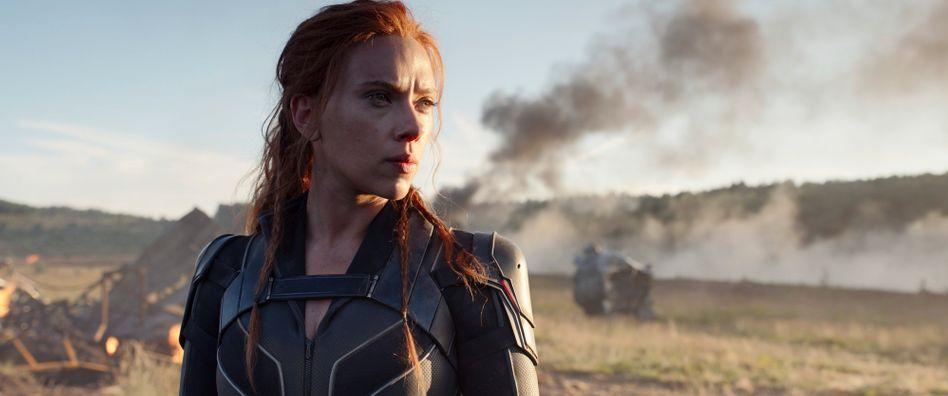 Schauspielerin Johansson in »Black Widow«: Der Blockbuster blieb hinter den Erwartungen zurück