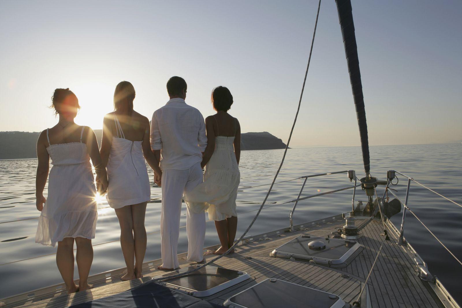 NICHT MEHR VERWENDEN! - SYMBOLBILD Yacht/ Griechenland
