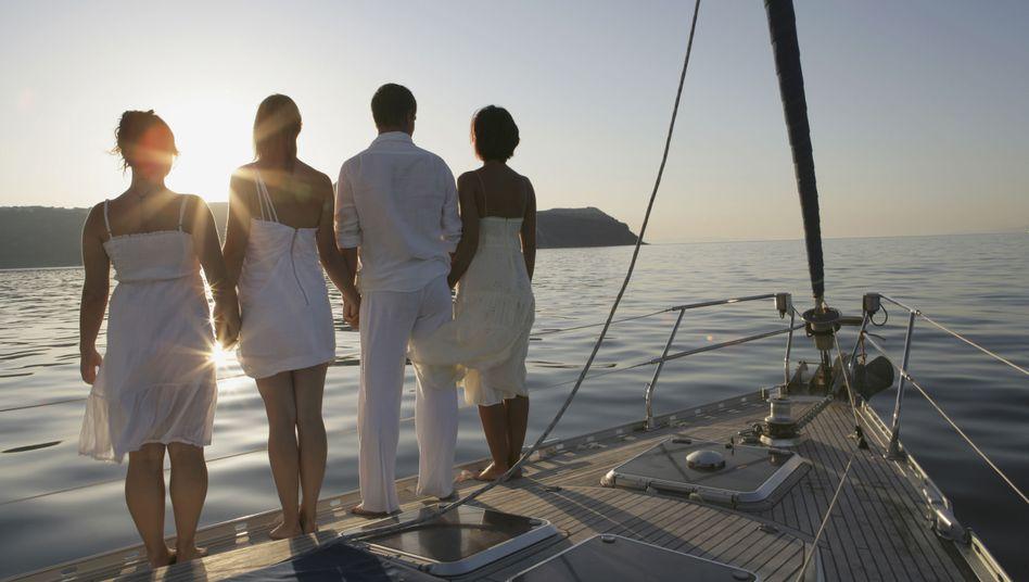 """Yacht in der Ägäis: """"Manche prahlen sogar mit ihren Steuerrückzahlungen"""""""