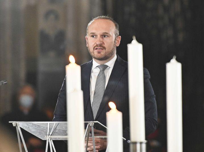 Der Präsident der Islamischen Glaubensgemeinschaft in Österreich, Ümit Vural