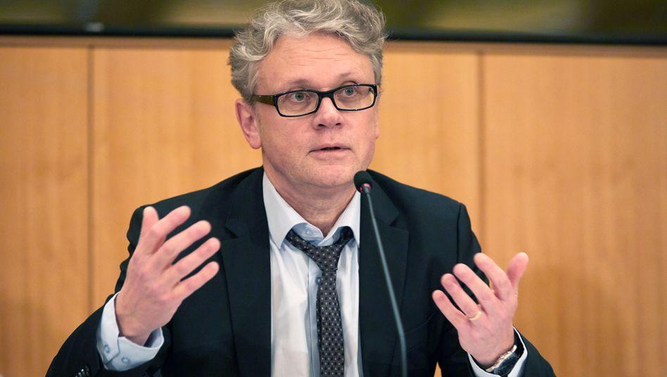 Der Hamburgische Datenschutzbeauftragte Johannes Caspar
