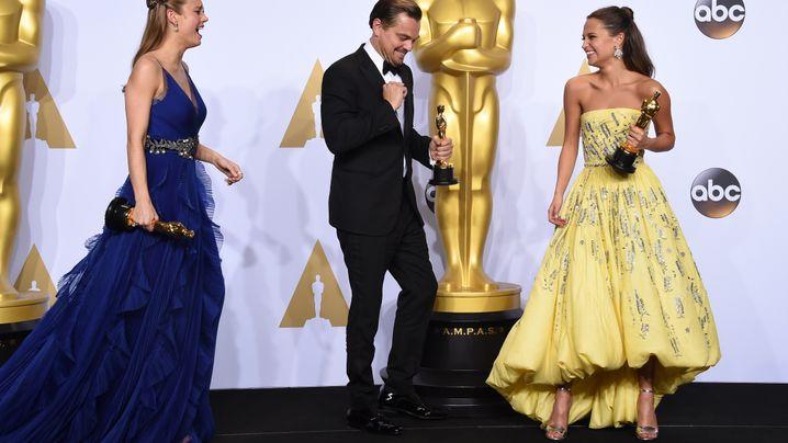 Oscars: Hollywood ist happy!