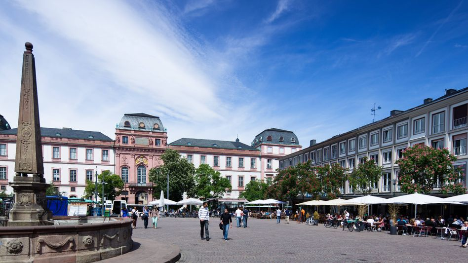 Darmstädter Marktplatz