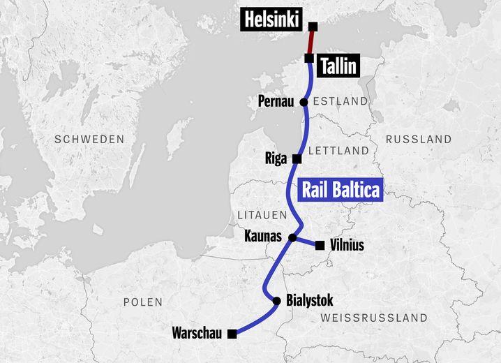 Rail Baltica: Logische Norderweiterung