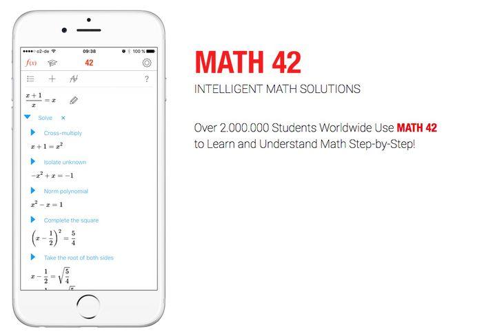 Math42-Webseite
