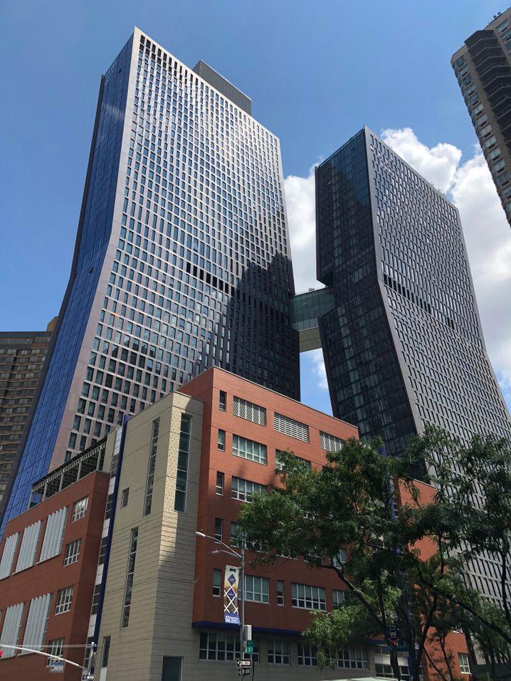 Jeder achte Neubau New Yorks liegt in einer Flutzone - die American Cooper Buildings sind auf Flutkatastrophen gut vorbereitet