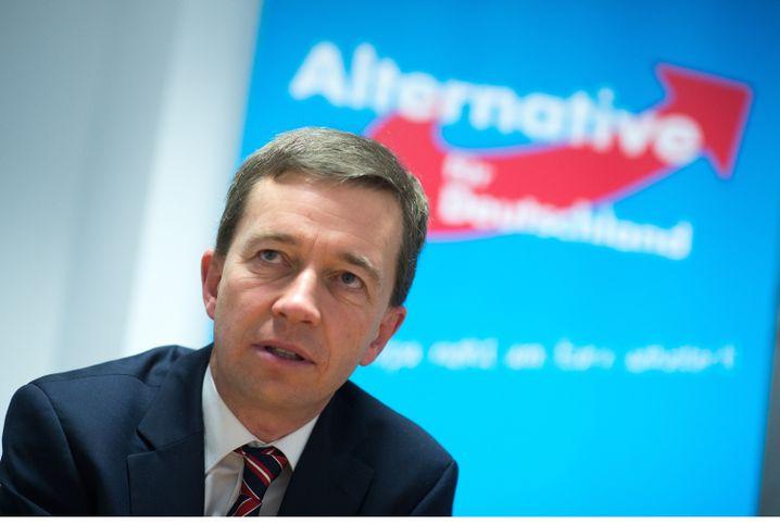 AfD-Vorstandssprecher Bernd Lucke: Stets ambitioniert