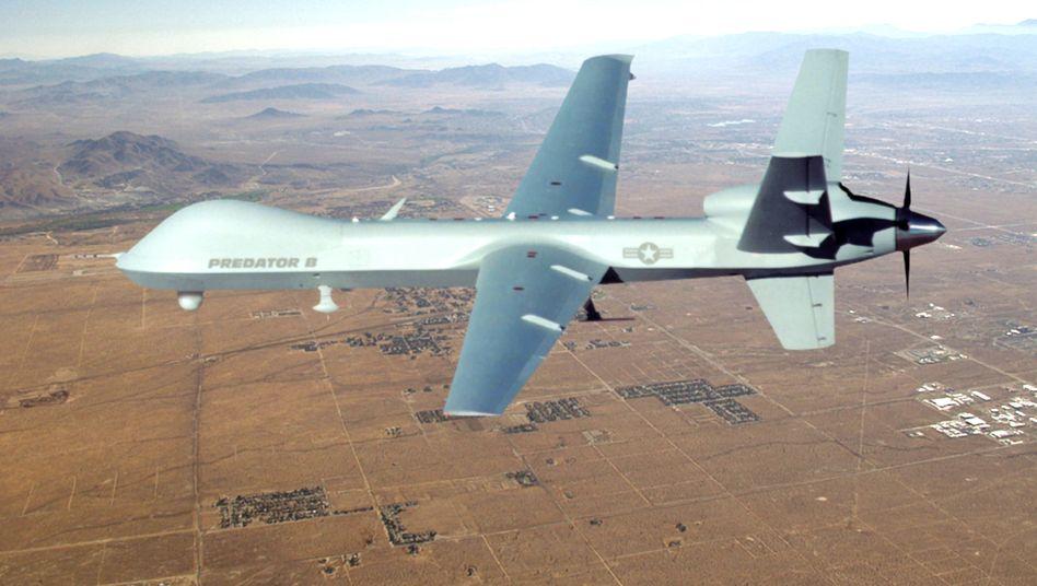 """US-Drohne """"Predator"""": """"Angriffe in Afrika offenbar von Basen in Deutschland unterstützt"""""""