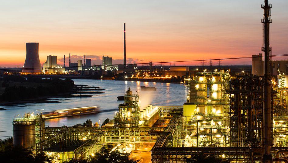 Das Thyssenkrupp-Stahlwerk Schwelgern (Archivbild)
