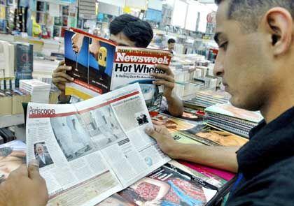 """Pakistan: Lektüre der """"Newsweek"""""""