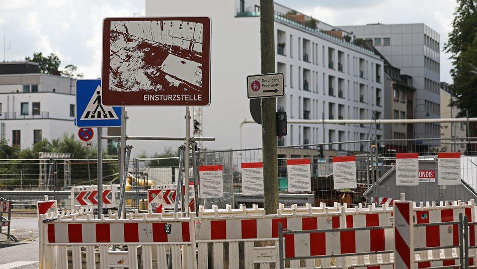 Einsturzstelle des Stadtarchivs in Köln: Firmen sollen U-Bahn-Strecke auf eigene Kosten zu Ende bauen