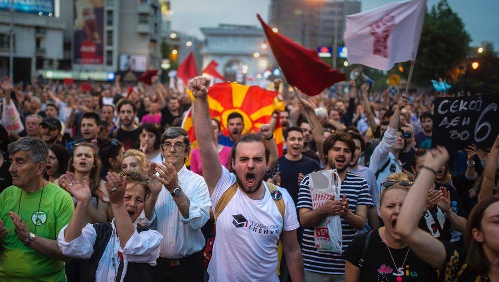 Staatskrise in Mazedonien: Maidan-Szenario auf dem Balkan?