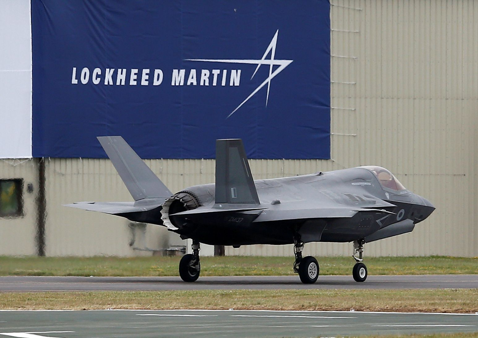 Lockheed Martin F-35B fighter jet