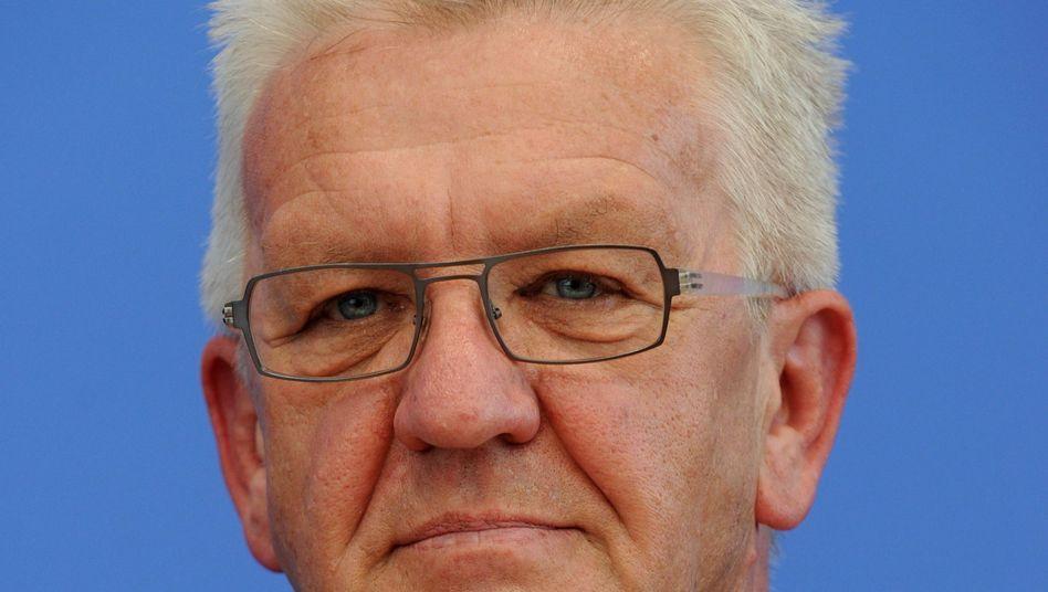 Ministerpräsident Kretschmann: Dem Grünen-Politiker stehen schwere Wochen bevor