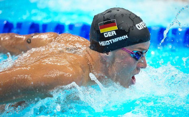 Jacob Heidtmann im Vorlauf