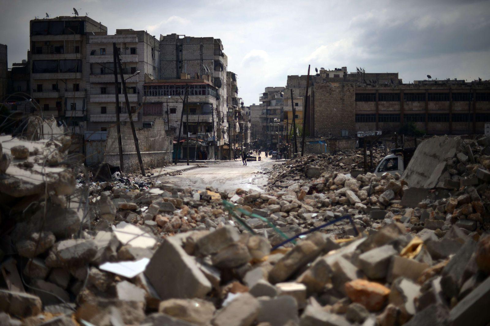Aleppo / Trümmer