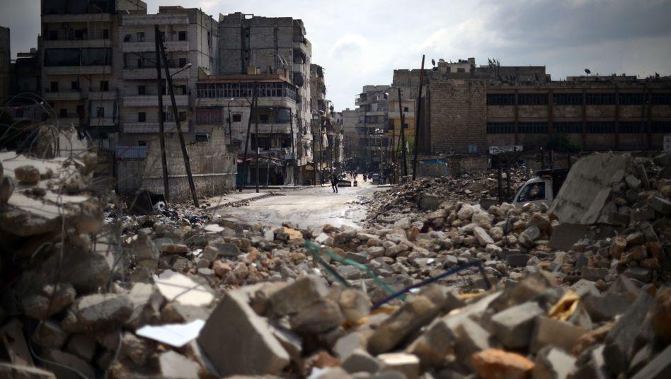Zerstörungen im syrischen Aleppo: Die Situation ist dramatisch eskaliert