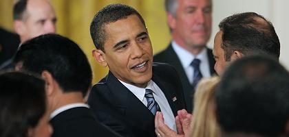 US-Präsident Obama: Diplomatischer Ärger wegen Buy-American-Klausel
