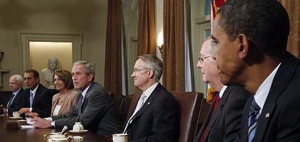 Krisengipfel im Weißen Haus: Hoffnung auf schnelle Lösung geplatzt