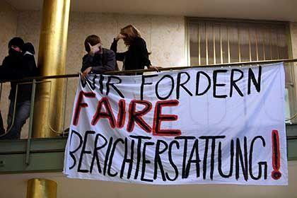 Transparent (beim Hessischen Rundfunk): Für mehr und fairere Berichte über Studentenproteste