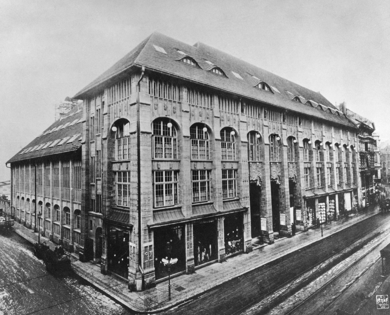 Berlin, Kaufhaus Wertheim Sophienstr.