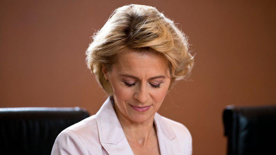 Sozialministerin Ursula von der Leyen