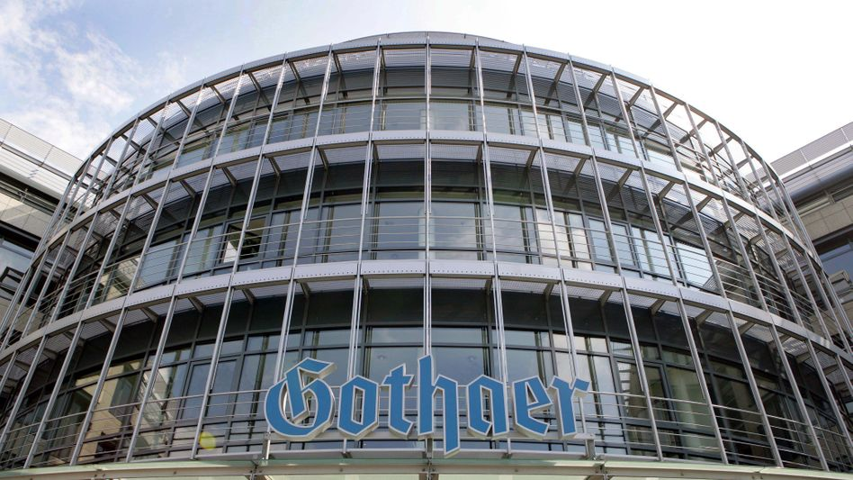The headquarters of the Gothaer insurance company in Cologne.