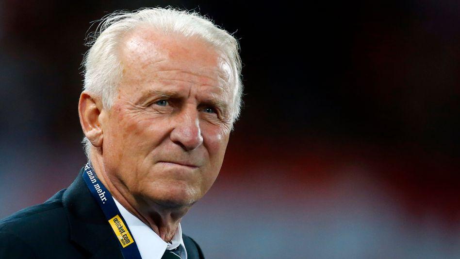 Giovanni Trapattoni: Derzeit Trainer der Vatikan-Auswahl