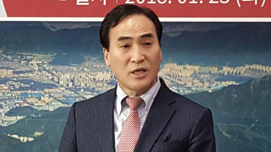 Kim Jong Yang, der neue Chef von Interpol