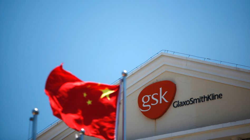 Büro von GlaxoSmithKline in Shanghai: Ermittlungen in China