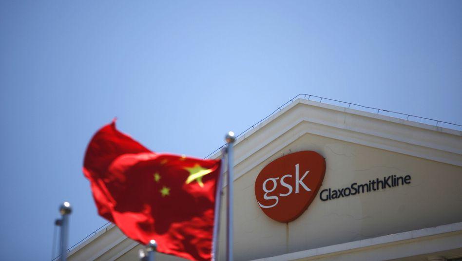 Glaxo-Smith-Kline-Gebäude in Shanghai: Vier Mitarbeiter in Gewahrsam