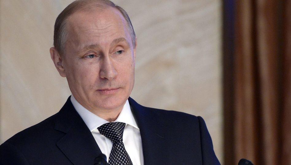 Russlands Präsident Putin: Ausschluss stärkt ihn innenpolitisch