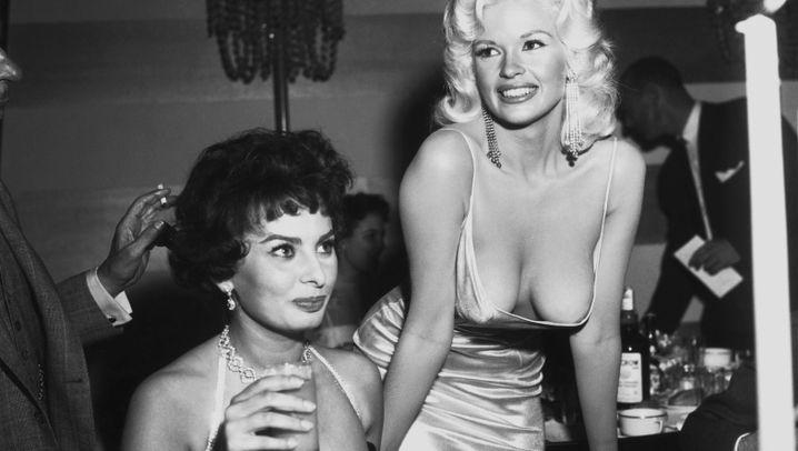 Beverly Hills 1957: Sophia Loren, Jayne Mansfield und der XXL-Ausschnitt