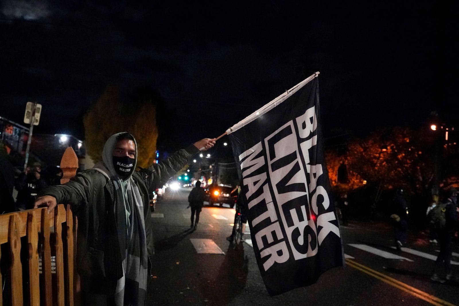 Election 2020 Protests Oregon