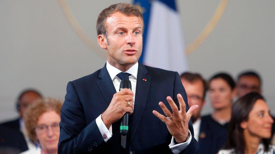 "Emmanuel Macron stellt sich hinter ""Fridays for Future"""
