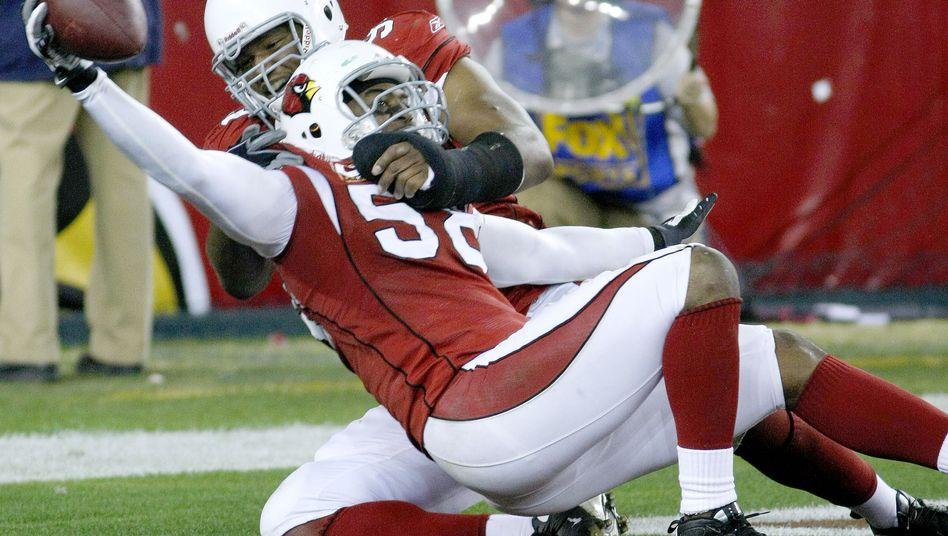 Cardinals-Linebacker Dansby (Nummer 58): Touchdown in der Verlängerung