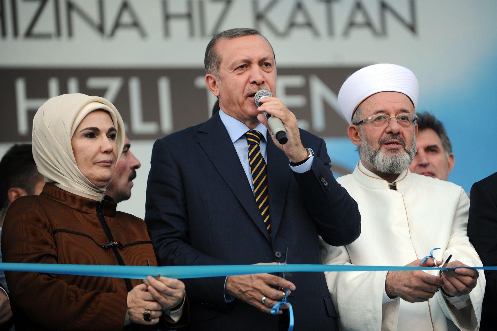 Erdogan / BAhnstrecke / Istanbul