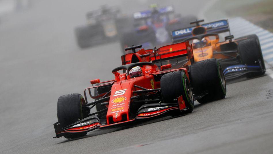 Sebastian Vettel: Platz zwei in Hockenheim