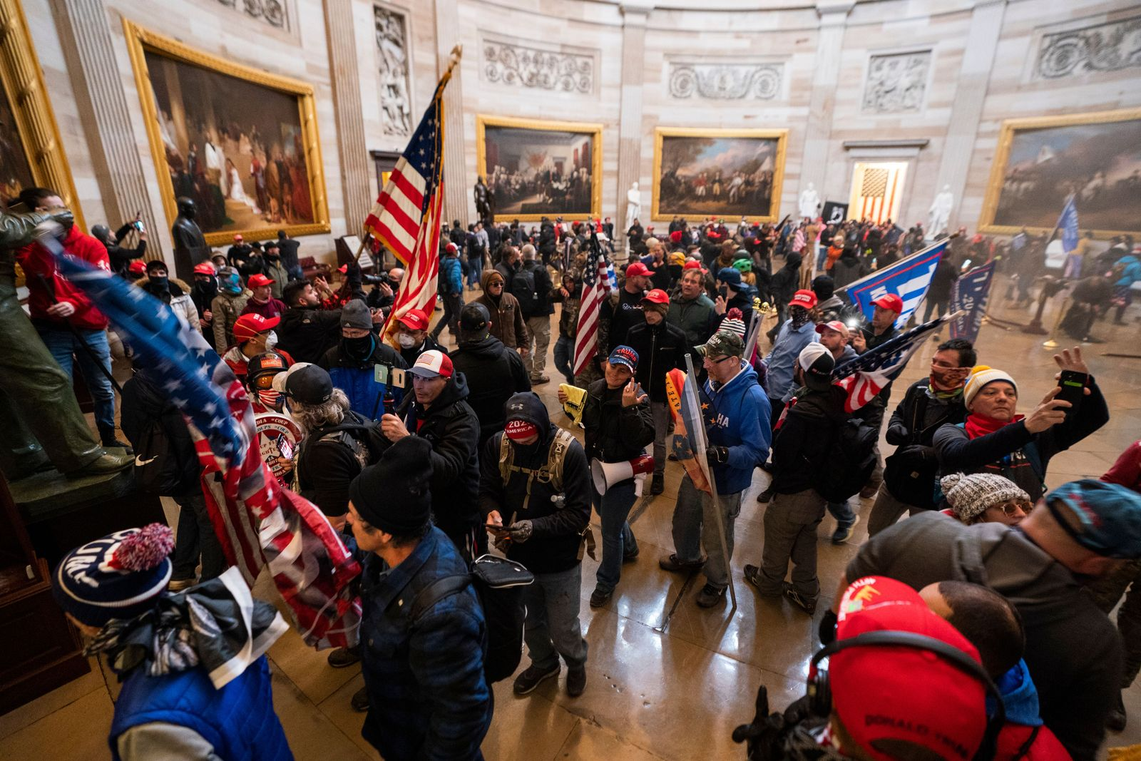 Protestors enter US Capitol, Washington, USA - 06 Jan 2021