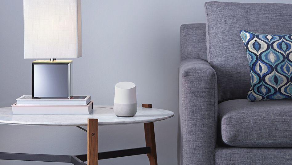 """""""Einige Mitarbeiter"""" können """"auf einige Audioausschnitte zugreifen"""": Google Home"""