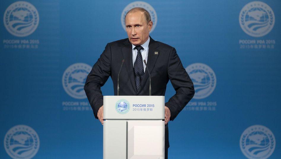 Russlands Präsident Putin (Archiv): Ratingagentur made in Russia