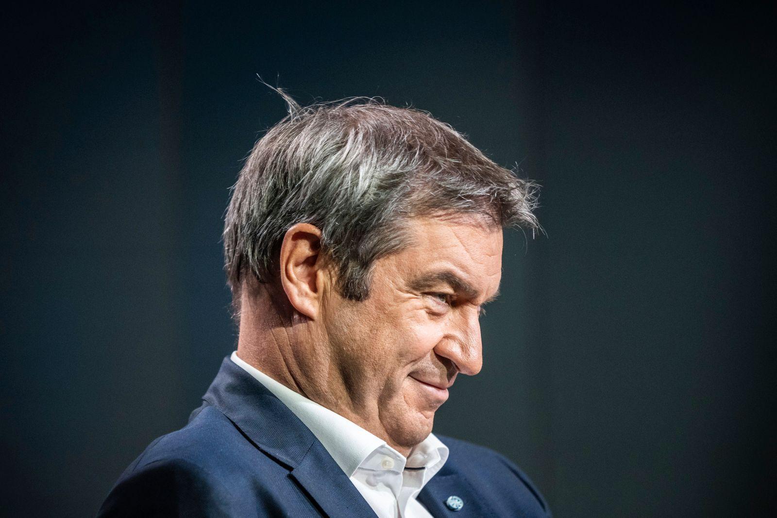 ARD-Sommerinterview mit Markus Söder