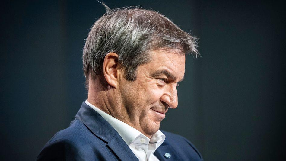 CSU-Chef Markus Söder im ARD-»Sommerinterview«, 29. August 2021