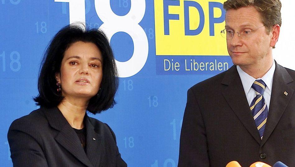 Margarita Mathiopoulos: 2002 trat die Politologin der FDP bei