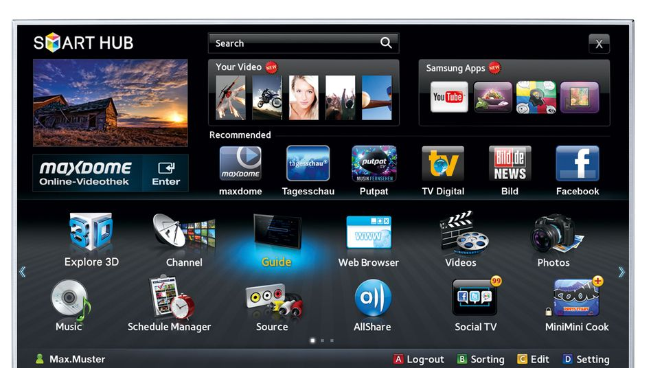 Smart TV von Samsung: Jetzt will auch Apple Fernseher bauen