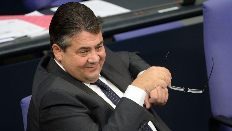 """Parteichef Gabriel: """"Um Zustimmung bitten"""""""