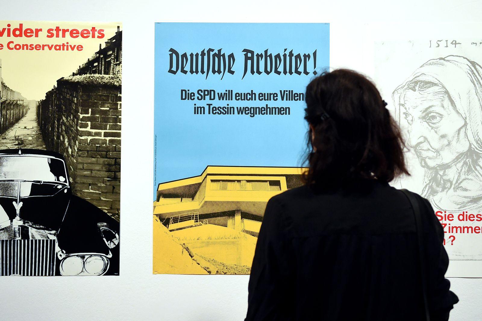 Klaus Staeck/ SPD Tessin