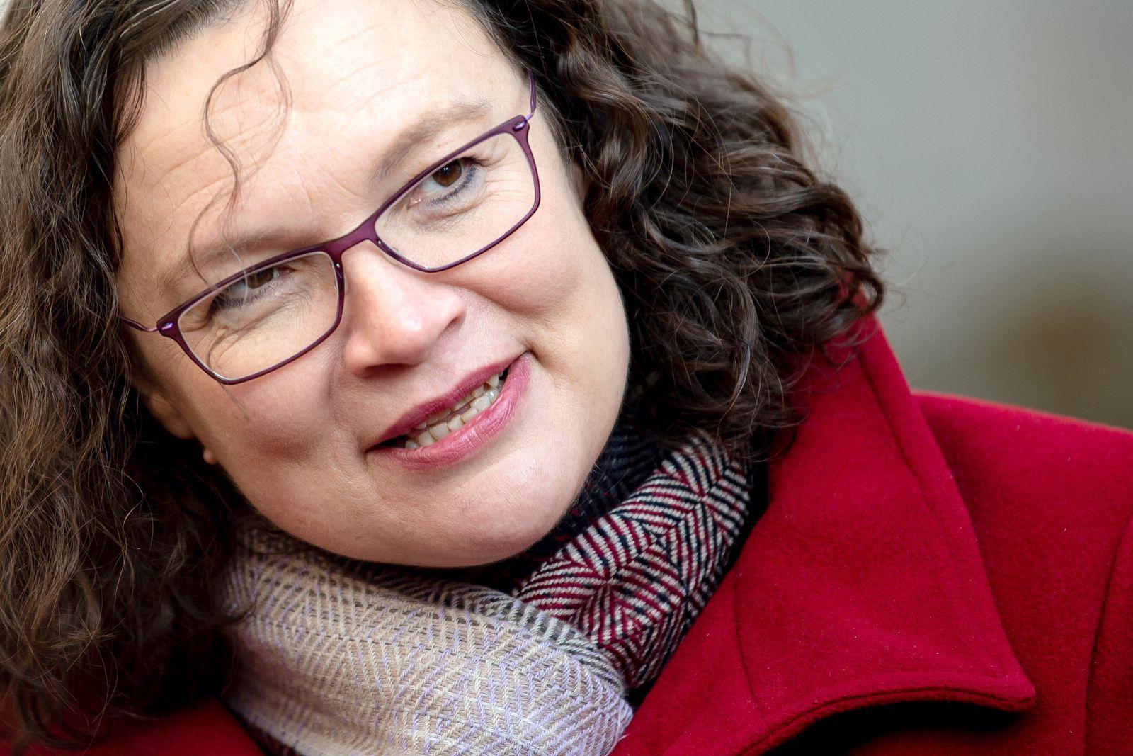 Andrea Nahles besucht Wartburg