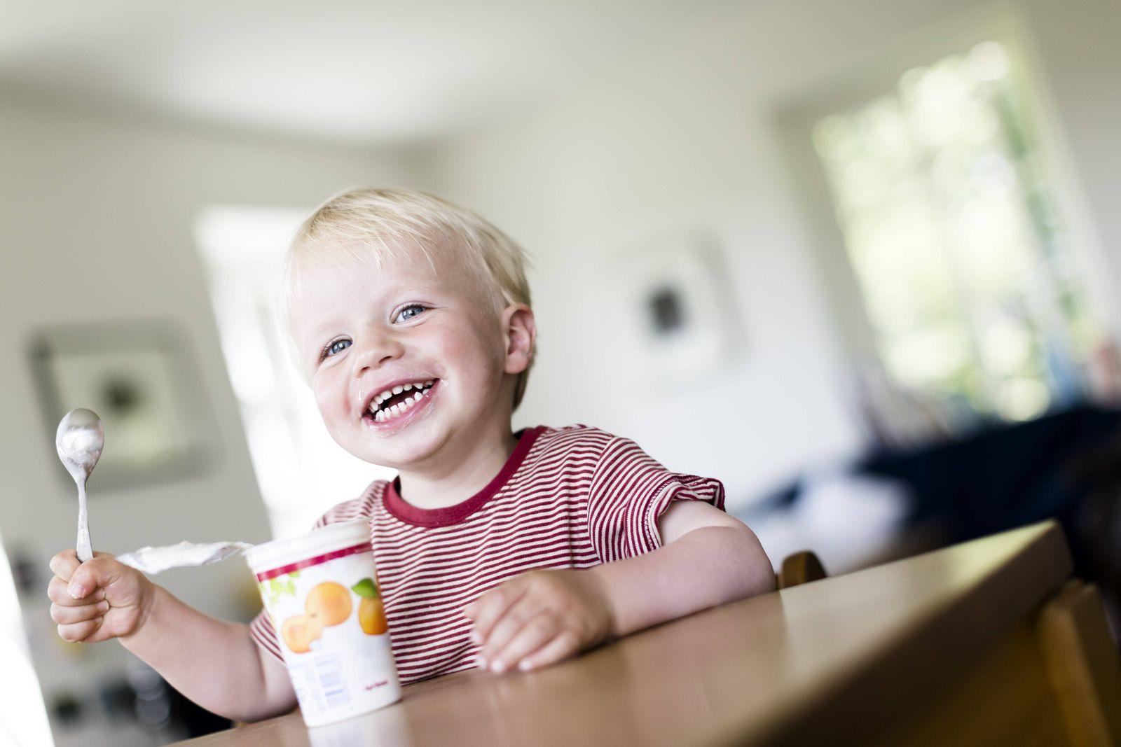 EINMALIGE VERWENDUNG Fruchtjoghurt Zucker